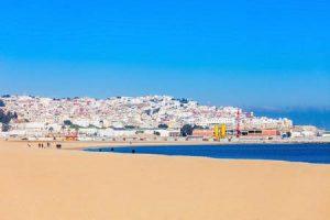 Strand von Tanger in Marokko