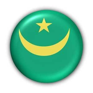 Nationalflagge von Mauretanien