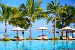 Mauritius wartet mit wunderschönen Hotels auf