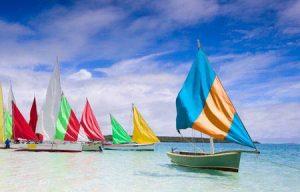Mauritius: Segeln