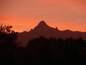 Mount Kenya - Berg in Kenia