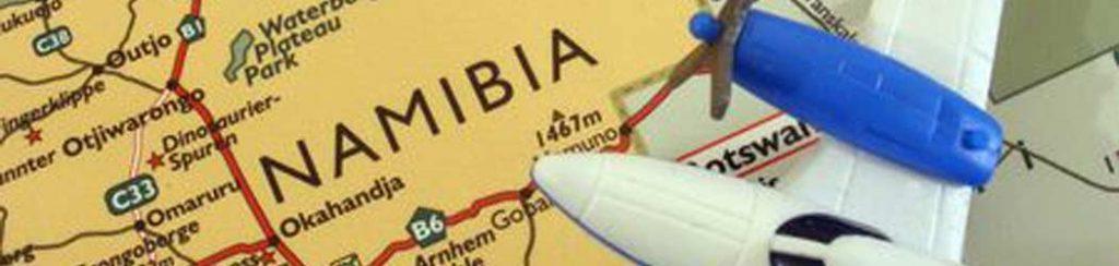 Namibia Flüge