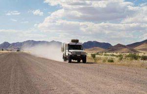 Verkehr: Autofahren in Nambia