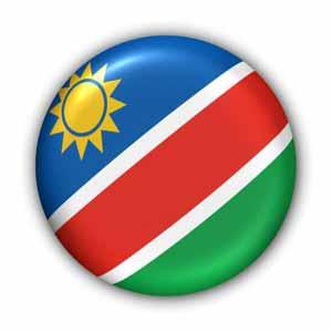 Nationalflagge von Namibia