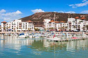 Hafen von Agadir für Segelboote und Yachten