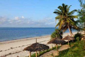 Blick auf den Strand von Nyali Beach