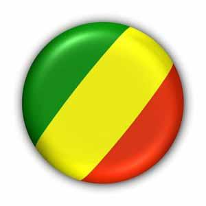 Flagge Republik Kongo