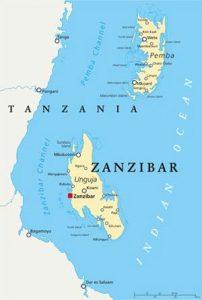 Das Sansibar-Archipel mit Sansibarund Pemba