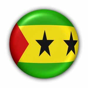 Nationalflagge von Sao Tome und Principe