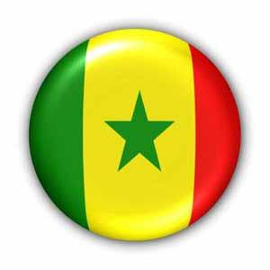 Nationalflagge von Senegal