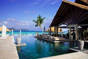 Hotel auf den Seychellen