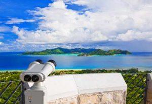 Die Lage der Inseln der Seychellen
