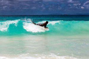 Seychellen: Surfen ist möglich