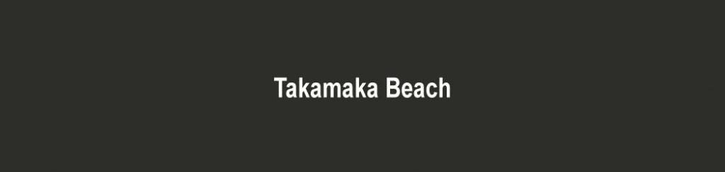 Seychellen: Takamaka Beach