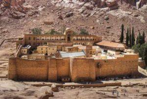 Das Katharinenkloster auf der Sinaihalbinsel