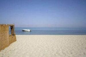 Urlaub: Strand auf der Sinai-Halbinsel