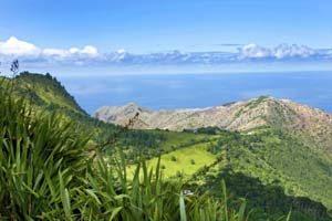 Insel St. Helena im Atlantik vor Afrika