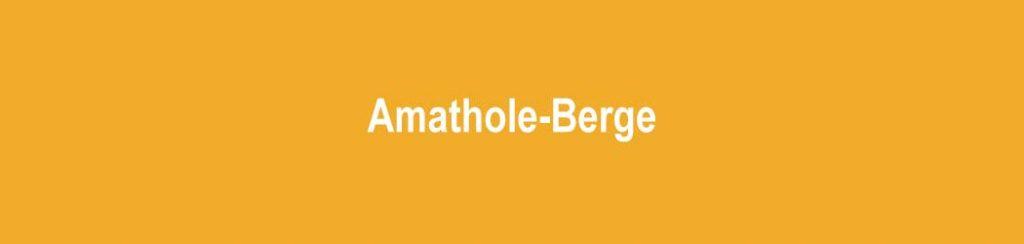 Südafrika: Amathole-Berge