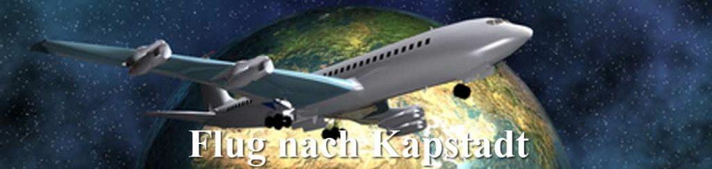 Südafrika: Flug nach Kapstadt