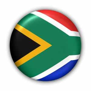 Nationalflagge von Südafrika