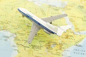 Flug nach Tansania