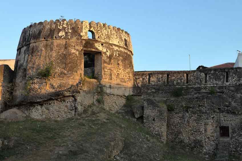 Das Old Fort in Stone Town auf Sansibar