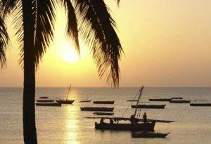 Paradies in Tansania - Sonnenuntergang auf Sansibar