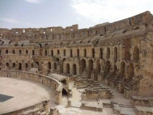 Das Colosseum von El Djem
