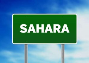 Die Sahara ist ein weiter Teil Tunesiens