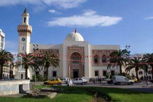 Tunesien: eine Moschee in Sfax