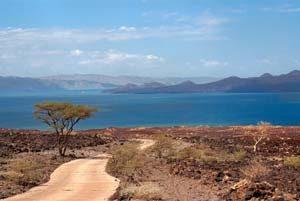 Der Turkana-See